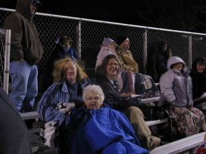 Dedicated Panther fans waited out the final out