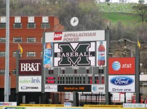 Gotta Love the Scoreboard...