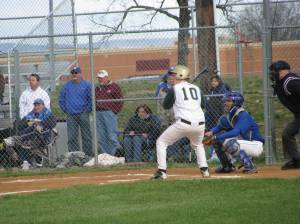 Weston Cash at the Plate