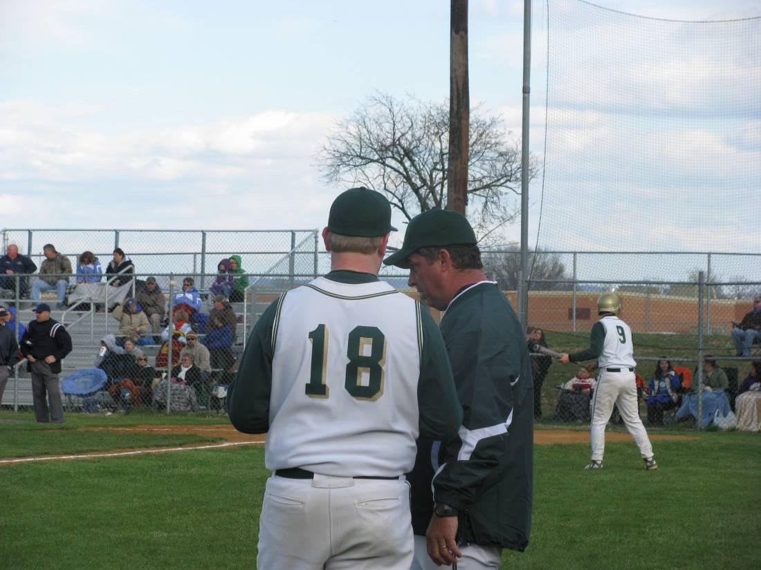 Coach and Senior Wally Andrus
