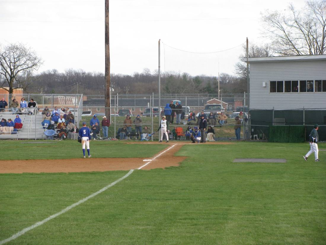 The view from the left field flag pole.