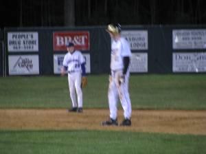 Boone Jones running the bases for Gap.