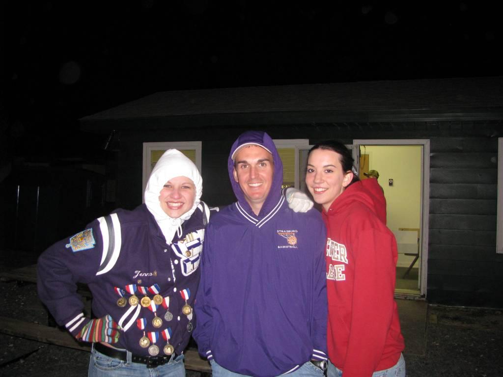 Jenna Smoot, Matt Hiserman and Katie Baker