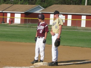 LHS's Johnny Van Wyck and Gap's Boone Jones