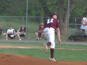 Alan Taylor followed McCaughan to the mound.