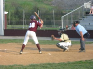 LHS's T.J Noser at the plate