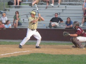 Bison at the plate.