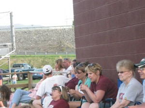 Some of the Luray faithful