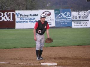 Playing the Hot Corner for Coach Harlow