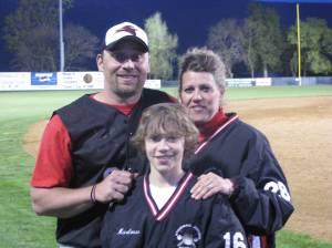 Head Coach Bill Harlow Jr. & Family