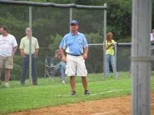 Coach working the Box.
