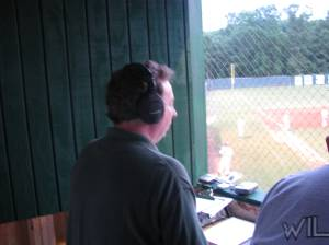 Our Good Buddy Craig Orndorff doing the game on his Radio Network