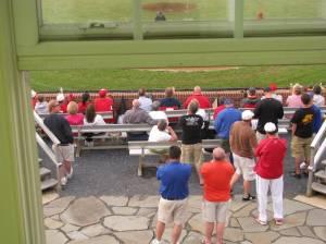 Region fans taking advantage of the Generals V.I.P seating !
