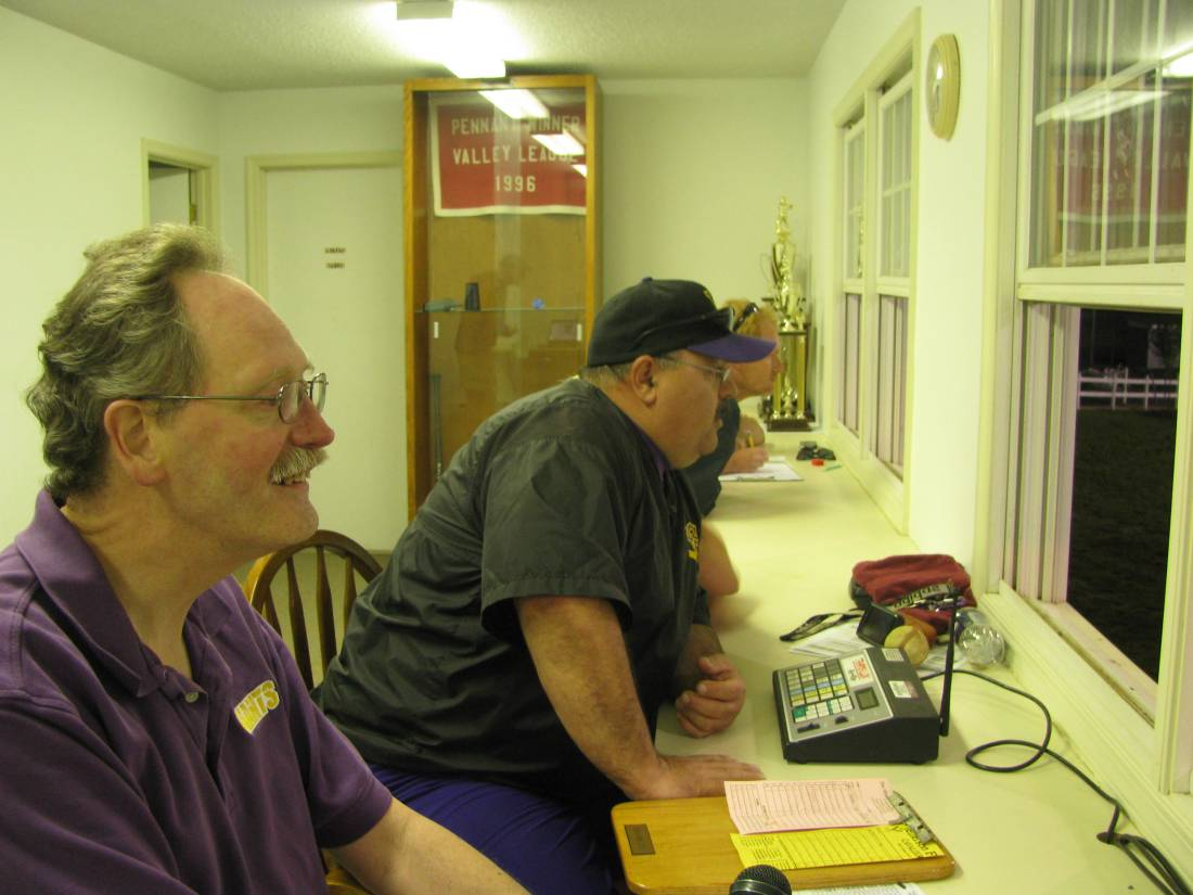 The friendly faces behind the Little Giants working the regionals.
