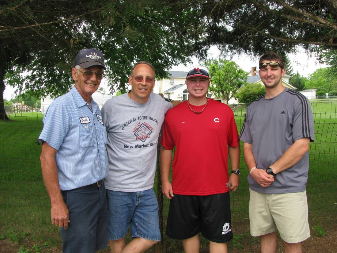 Dave Beaver, Bruce Alger, John Combs & Lucas Jones