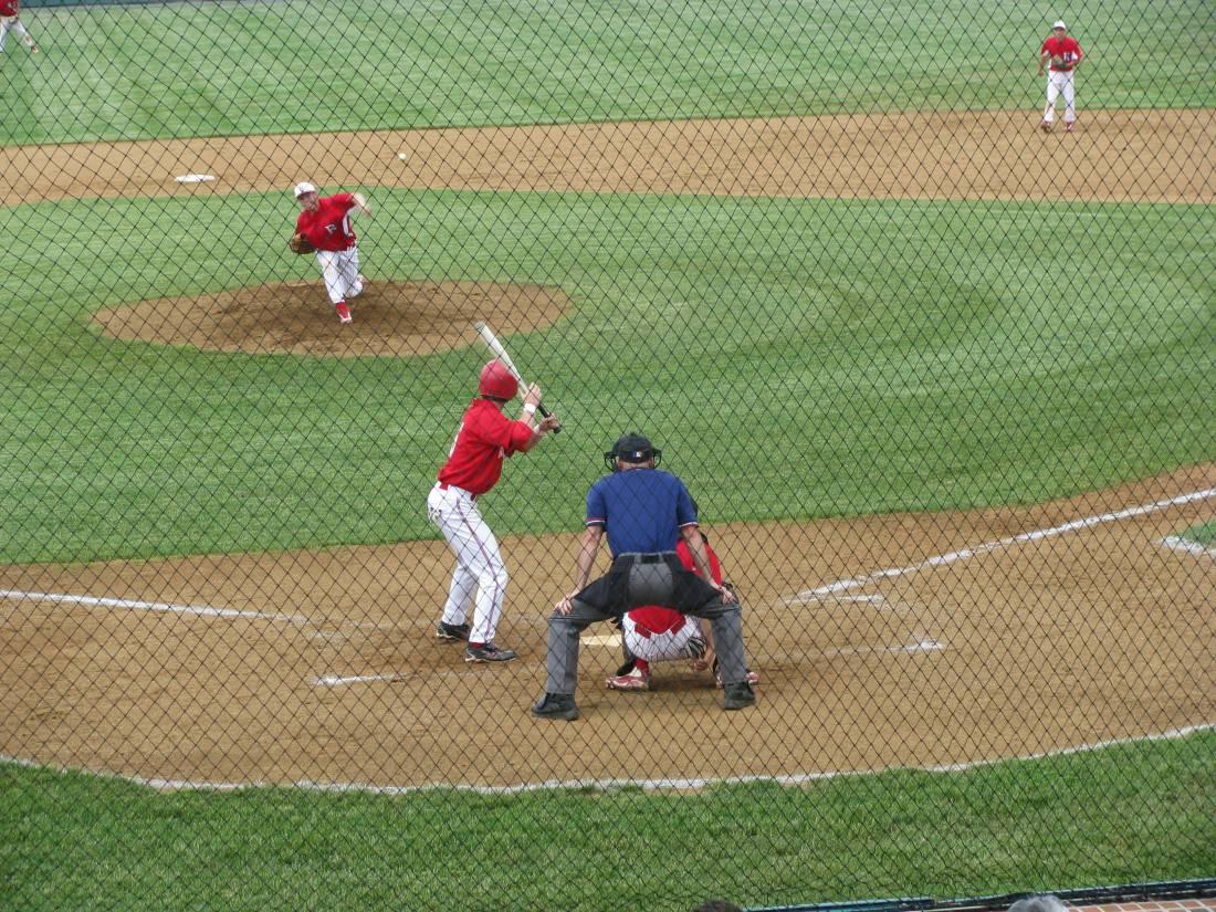 Third inning action...