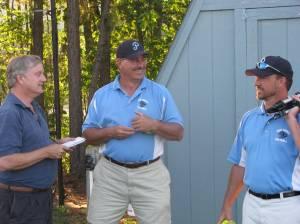 Bill Meade interviewing Coach Alan & Coach Rlph
