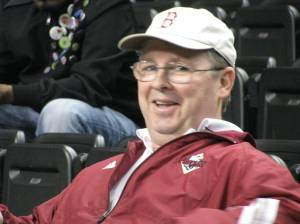 Steve Cox will be working the PA today @ Bridgewater College for the Softball Finals.