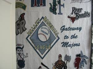 New Item - VBL Blankets with logo's from all 12 teams...