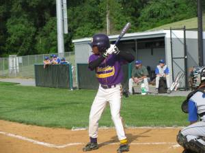 Game One had the Little Giants wearing Purple