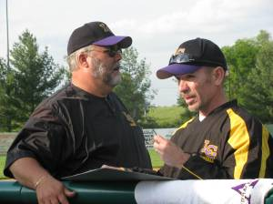 Coach Payne and Asst. Coach Brian Lundstrom (Yes- Our Brian)