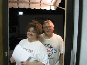 Scott & Tammy Foltz - Members of the Crystal Clear Delivery Sunday A.M. Staff