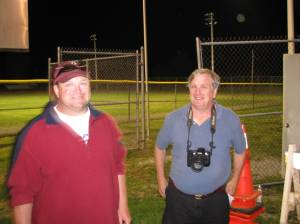 Our bud Bill Meade (PN & C) was on the scene at the end of a busy day