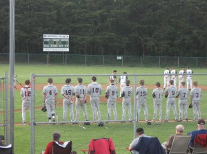 National Anthem before Riverheads @ Wilson