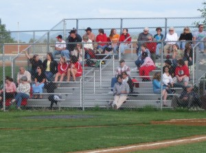 The Red Pride faithful.