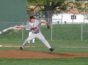 Cody Montgomery on the hill.