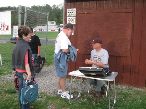 Luray AD Don Ehlers working the Soccer DH
