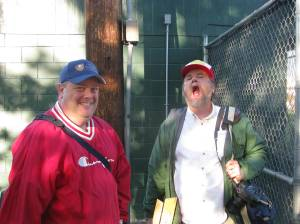 The fellas from the NVD - Greg Brill & Camera Ace Dennis G.