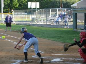 Laying Down the Bunt attempt
