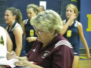 Wildcats Head Coach Cathy Brill