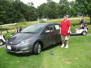 The Hole in One Prize we tried to win yesterday.