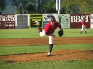 Ricky Marshall on the mound.