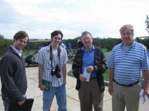 The Fab 4 of Media - Jeremy (NVD), John (SVH), Ken Bauserman (NL) and Bill Meade