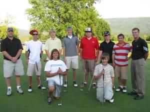 Stonewall Jackson Golf Team 2009-2010