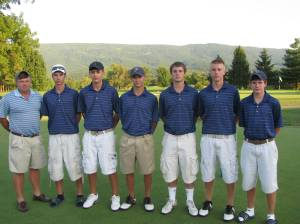 Page County Golf Team w/ Head Coach Roy Campbell